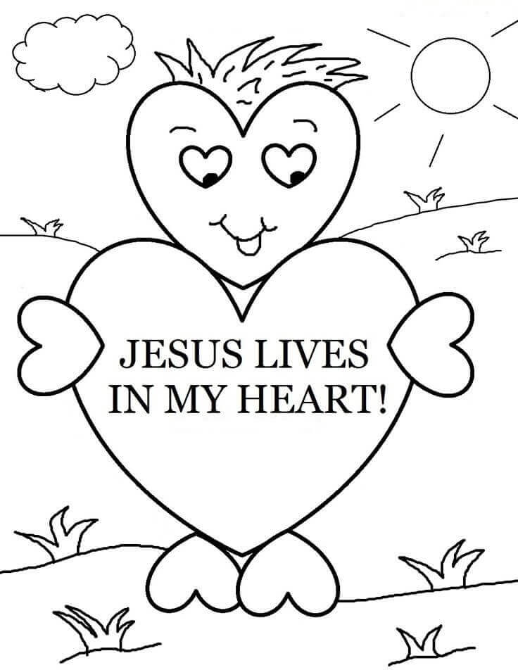 Sunday School Coloring Pages Printable