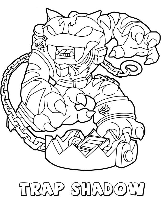 chaos skylanders coloring pages - photo#24