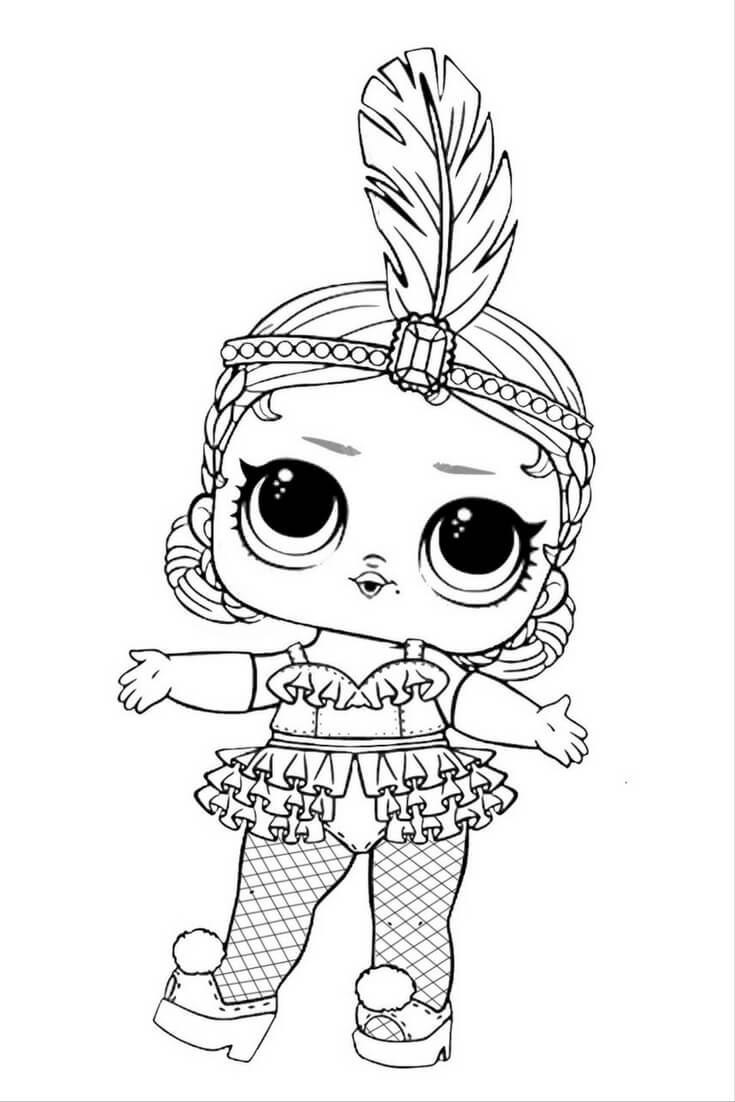 coloring pages dolls - photo#26