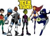 teen titans coloring images