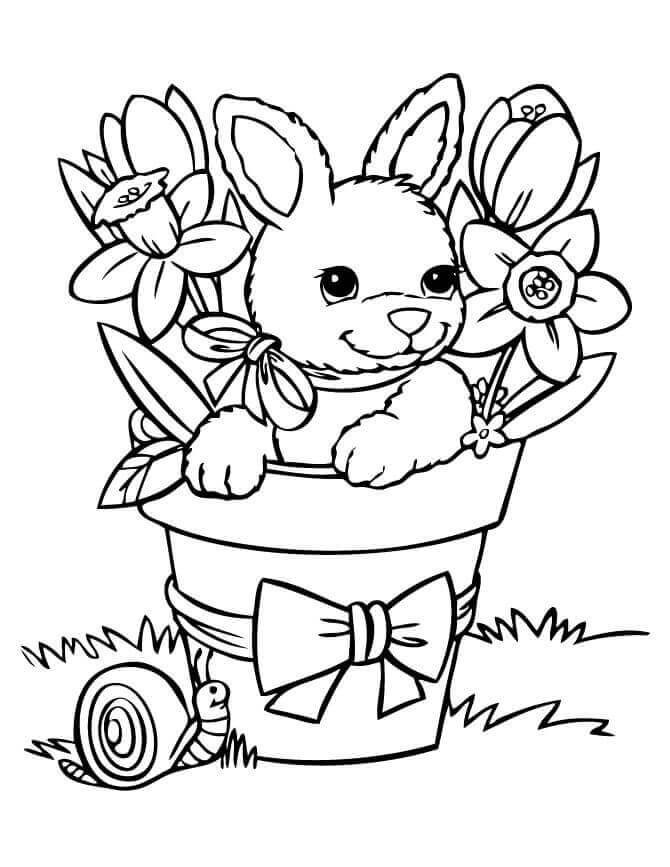 Sprint coloring pages ~ 35 Free Printable Spring Coloring Pages