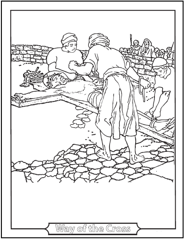 Catholic Lent Coloring Pages