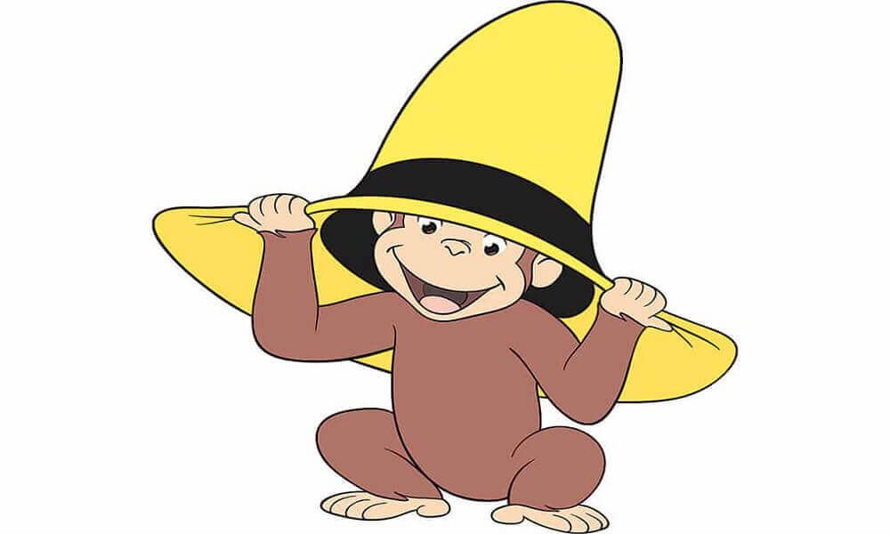 Curious George Coloring Images