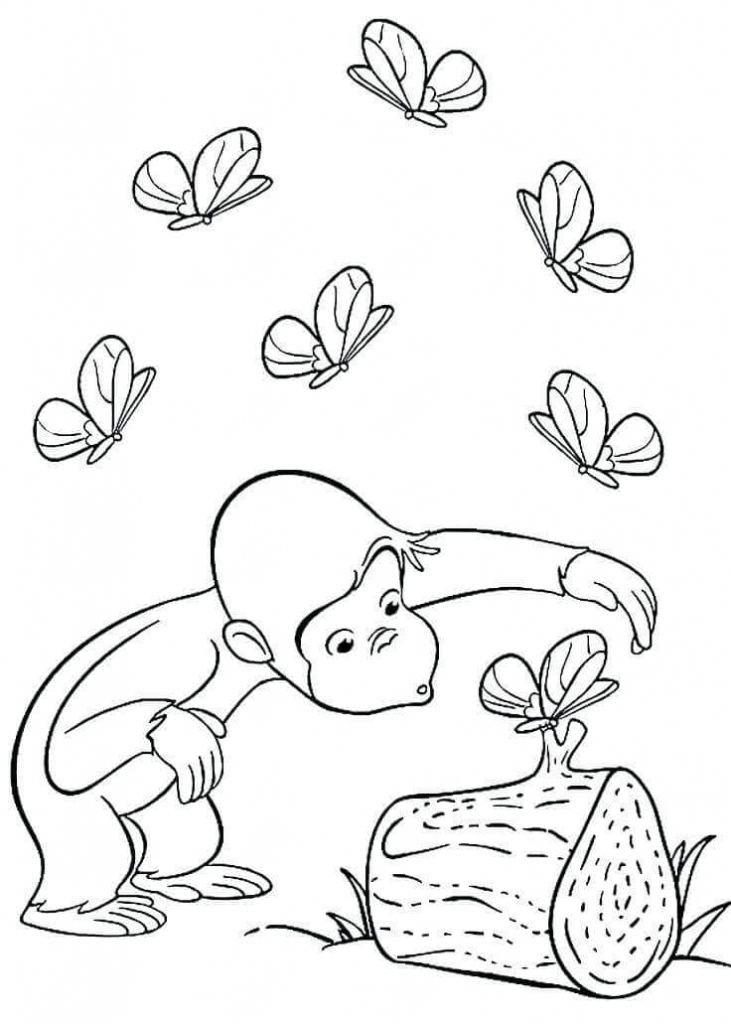 15 free printable curious george coloring pages for Curious george printable coloring pages