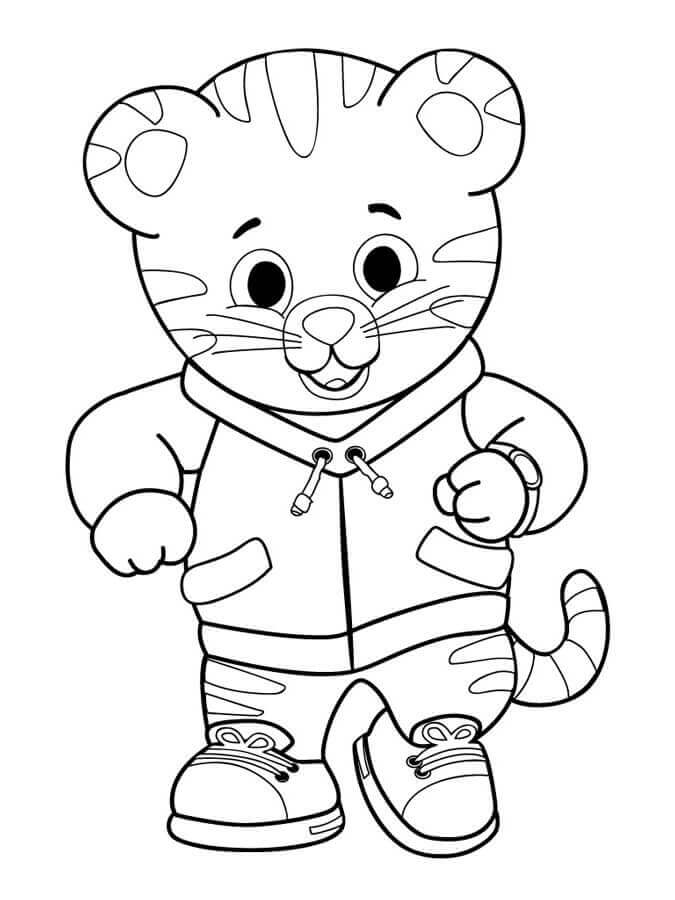 Daniel Tigers Neighborhood Pages Coloring Pages