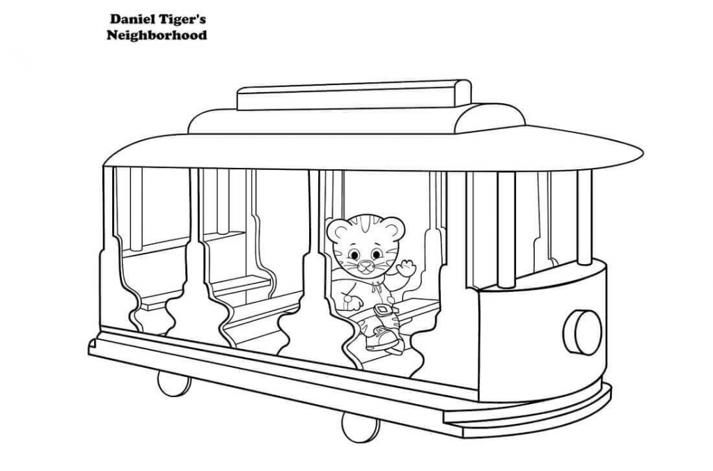 daniel tigers coloring pages printables - Daniel Tiger Coloring Pages