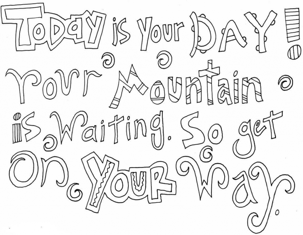 Dr Seuss Coloring Pages Free Printable
