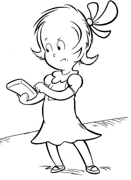 Dr Seuss Coloring Pages Sally