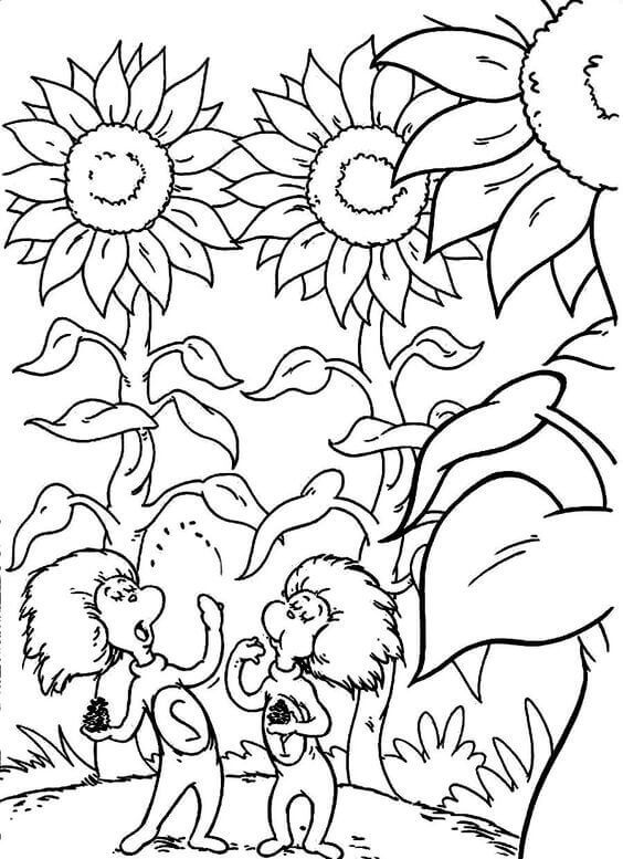 Dr Seuss Coloring Pages Thing 1 Thing 2