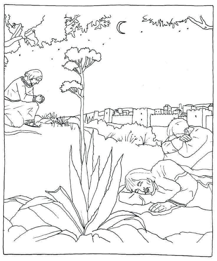 Free Catholic Lent Coloring Pages For Kids