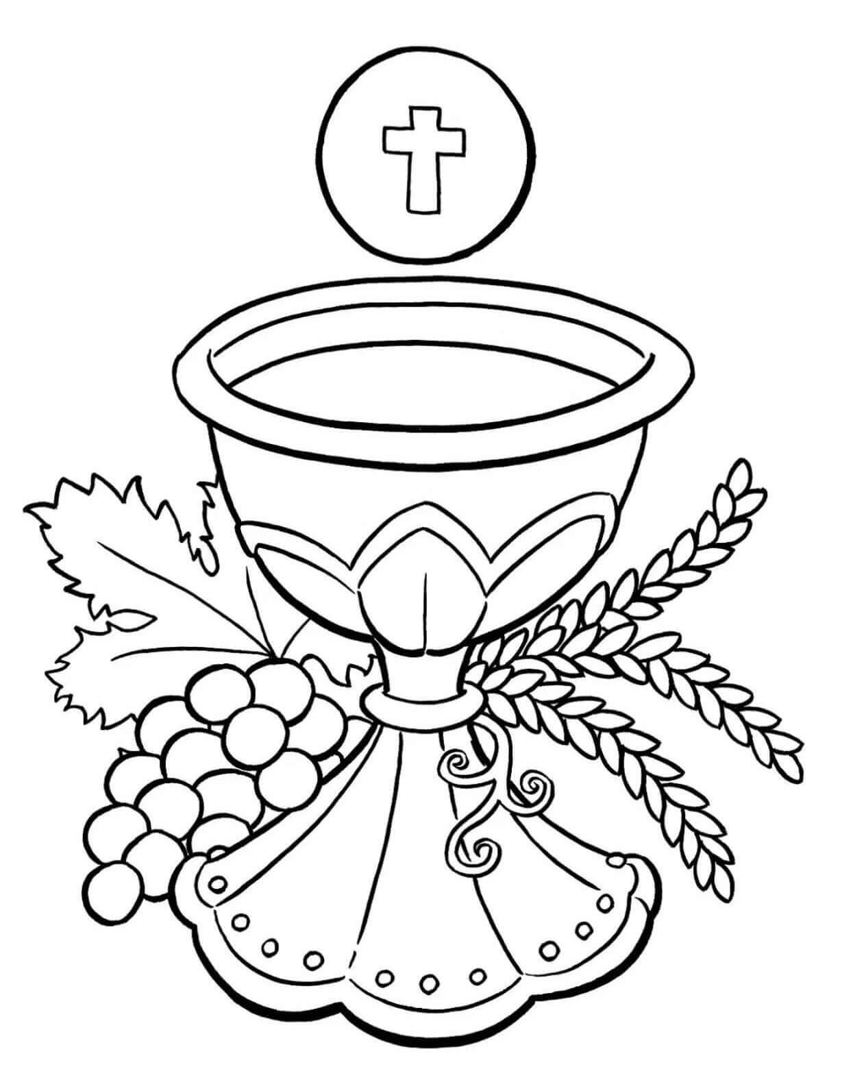 Free Printable Lent Coloring Pages (Catholic Lenten Coloring Pages)