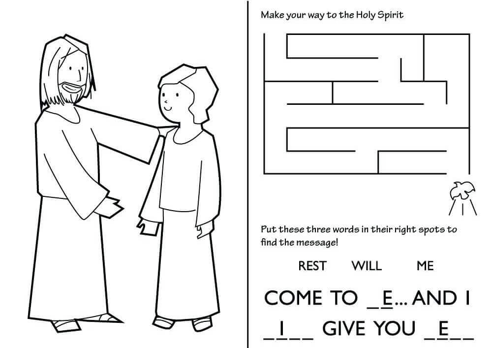 Free Lent Activity Sheets