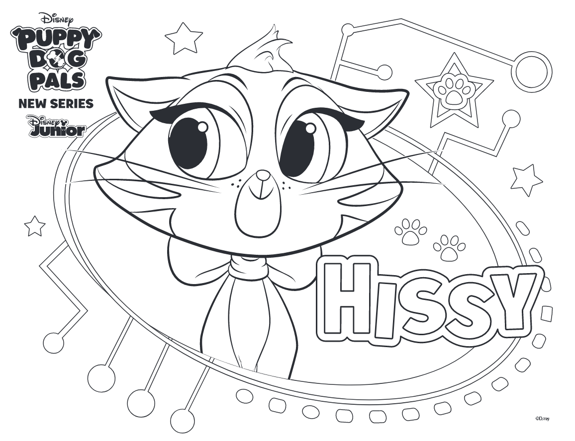 Puppy Dog Pals Coloring Pages To