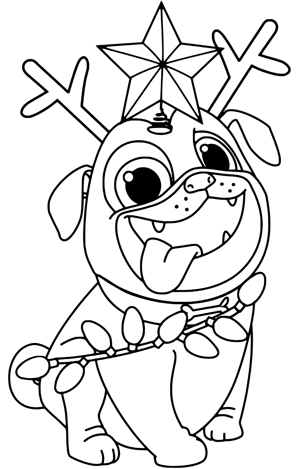 Free Printable Puppy Dog Pals Coloring Sheets Rolly