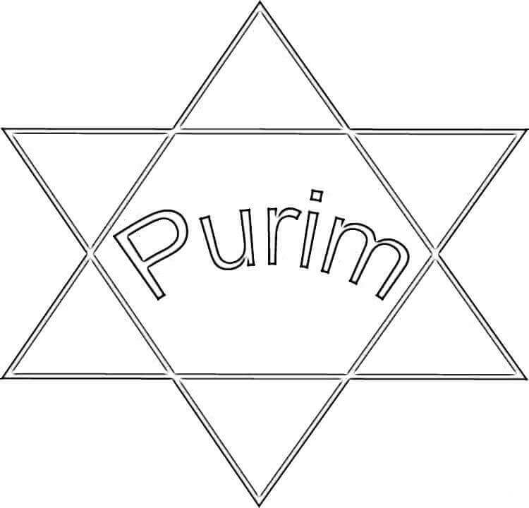 free printable purim coloring pages - Purim Coloring Pages