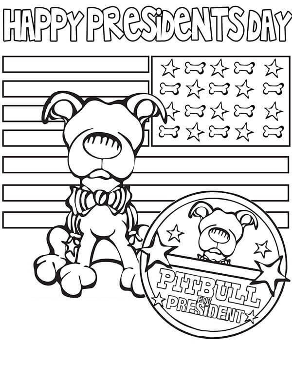 Happy President Day Coloring Pages Printable