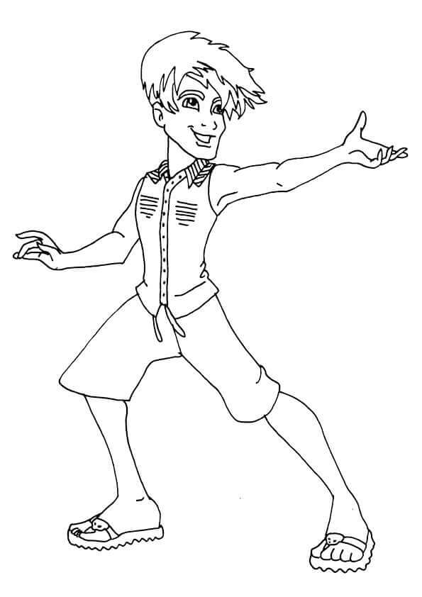 Jackson Jekyll From Monster High Coloring Pages To Print