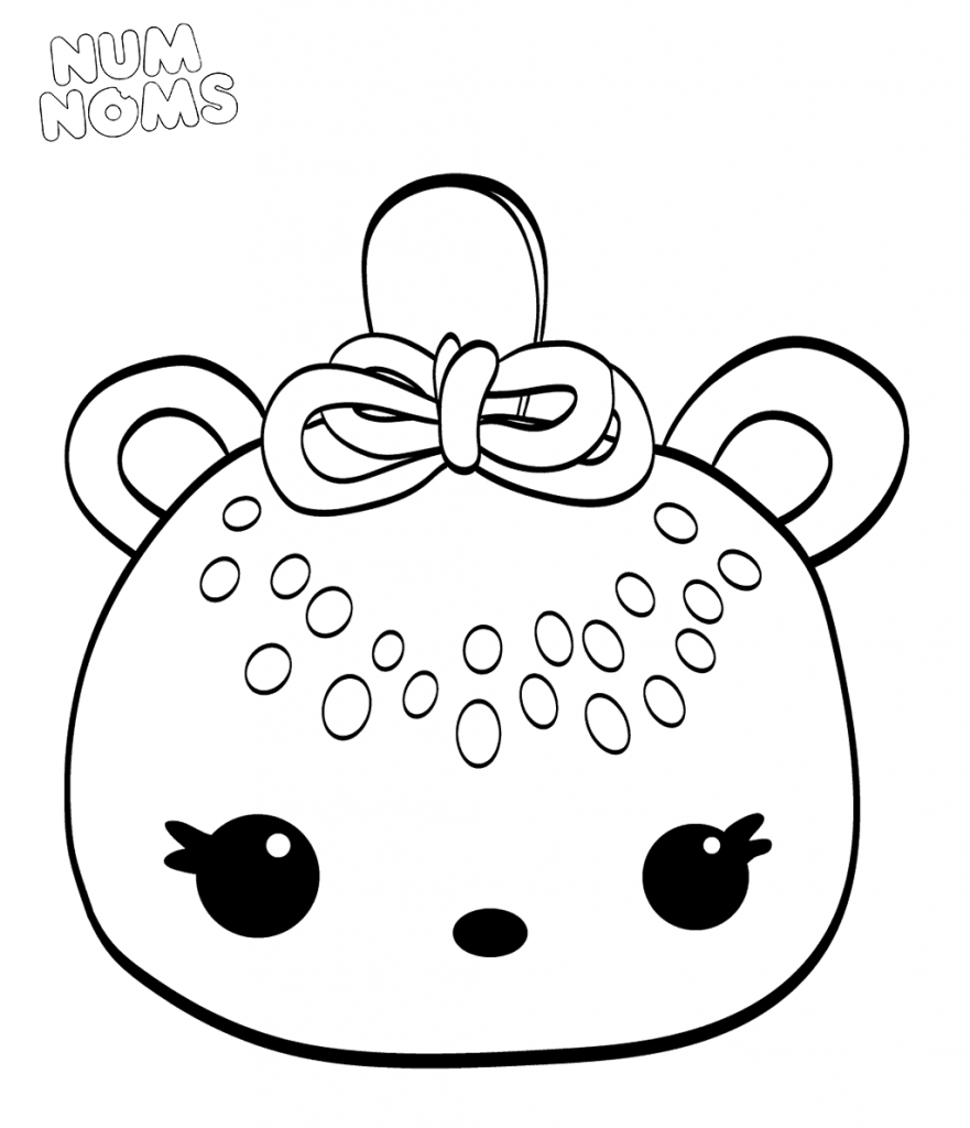 Kiwi Freezie Num Noms Coloring Pages