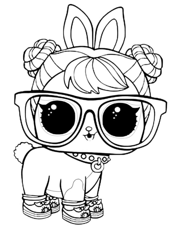 15 Free Printable Lol Surprise Pet Coloring Pages
