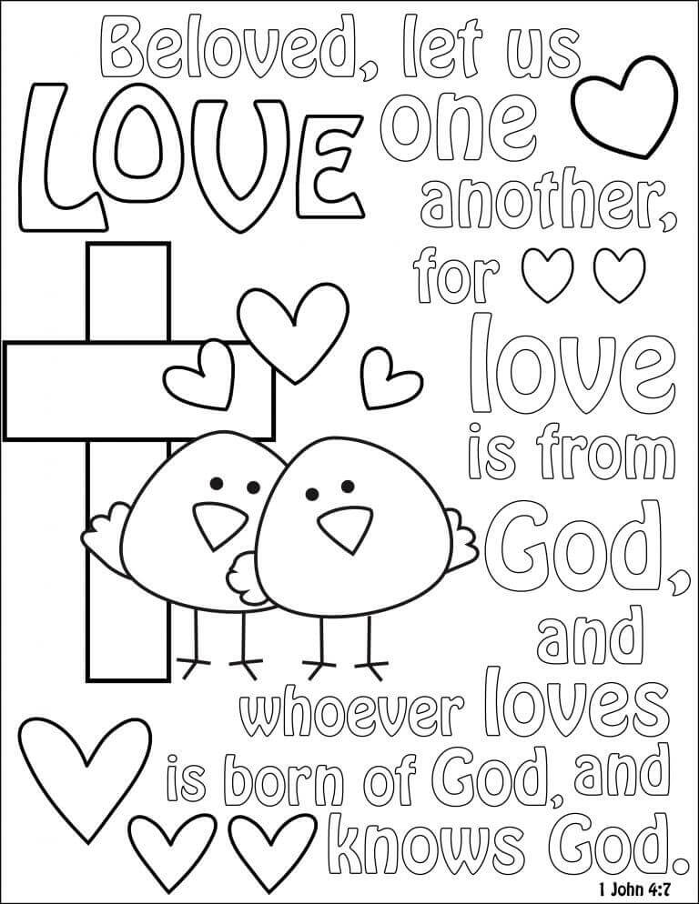 Lenten Coloring Pages