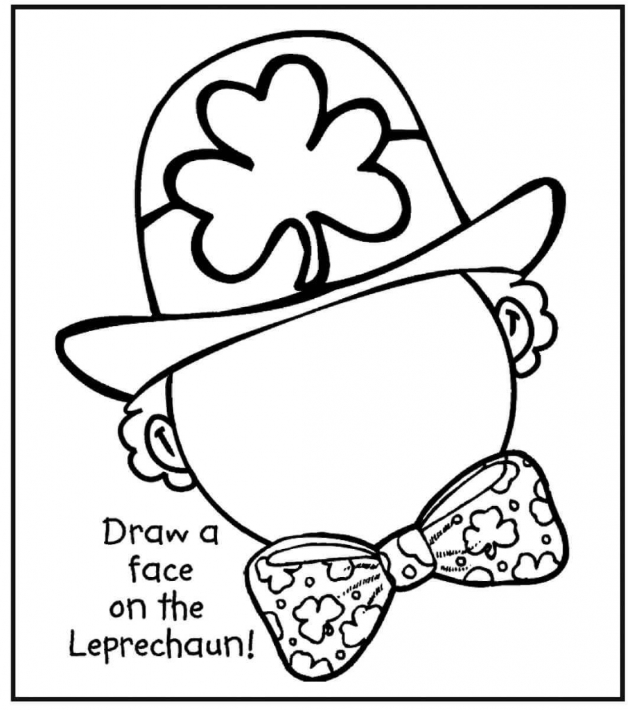 Leprechaun Activity Sheets Free Printable