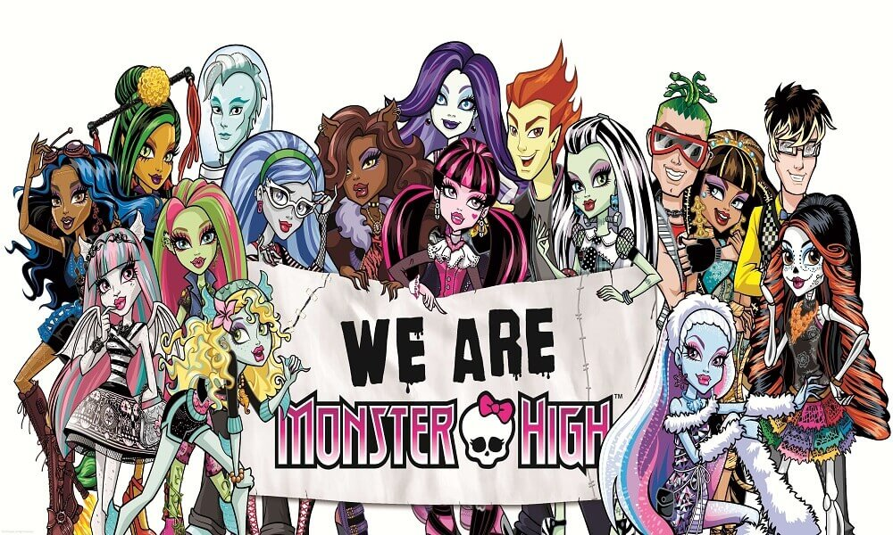 Monster High Coloring Images