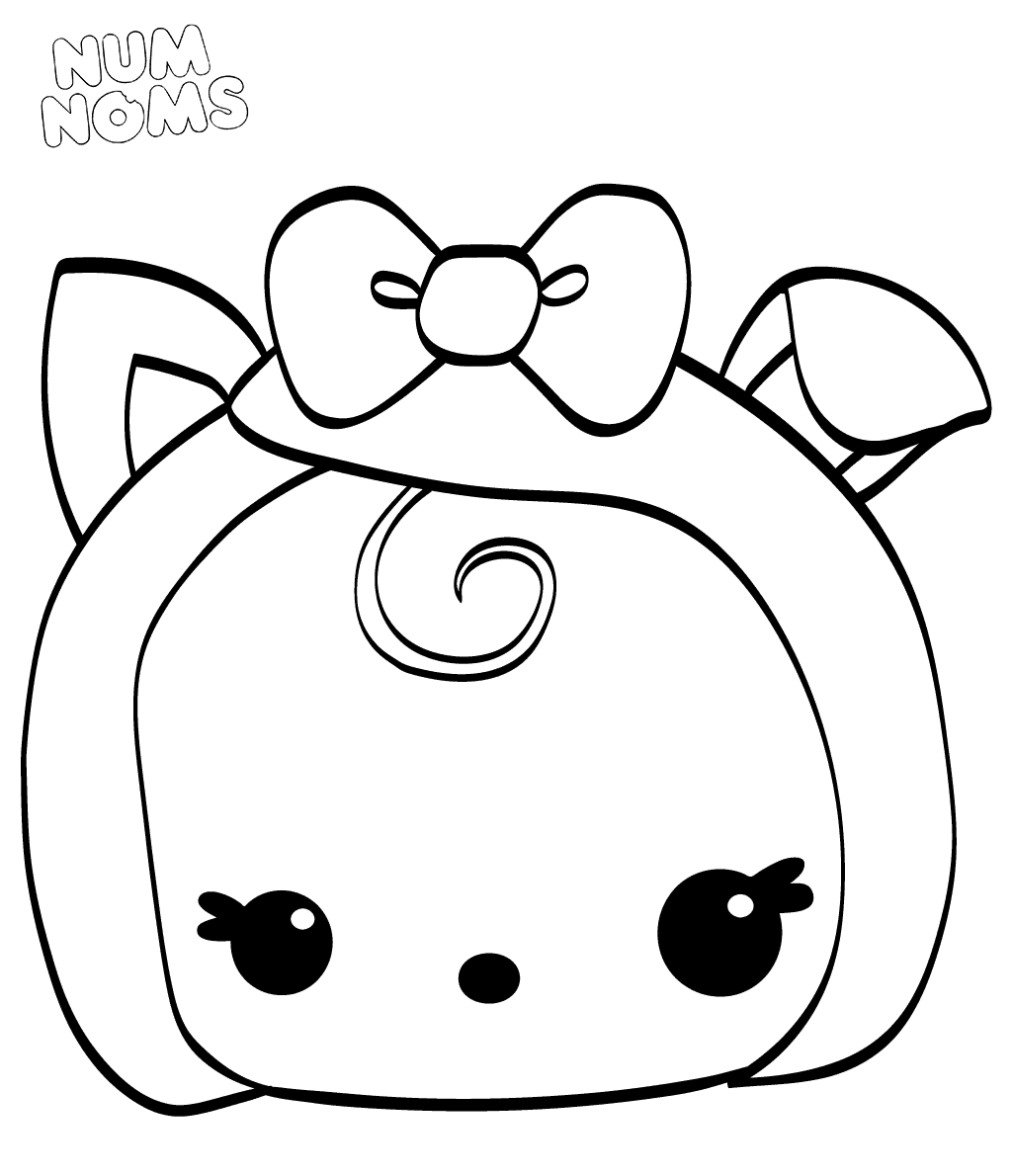 Num Noms Coloring Pages Becca Bacon