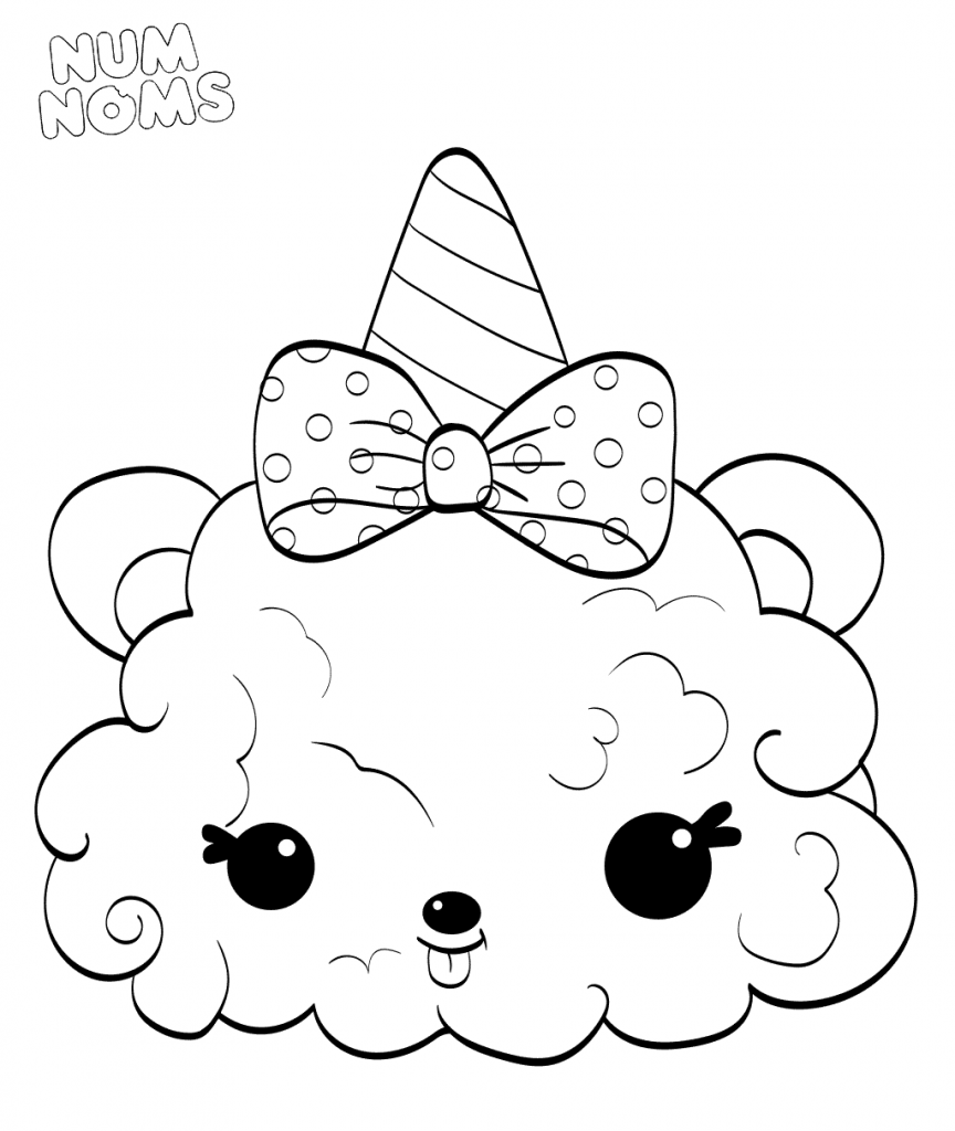 20 Free Printable Num Noms Coloring Pages
