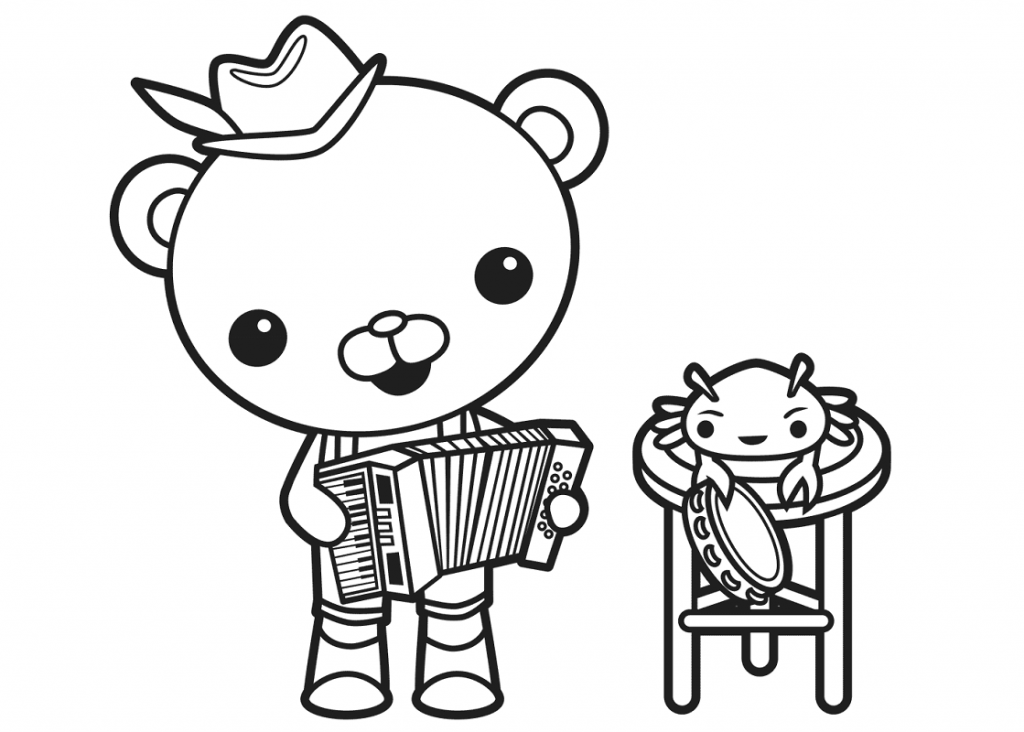 Octonauts Coloring Pages Captain Barnacles