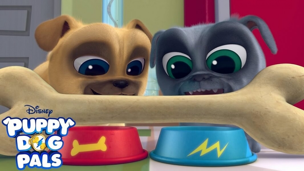 Puppy Dog Pals Coloring Images