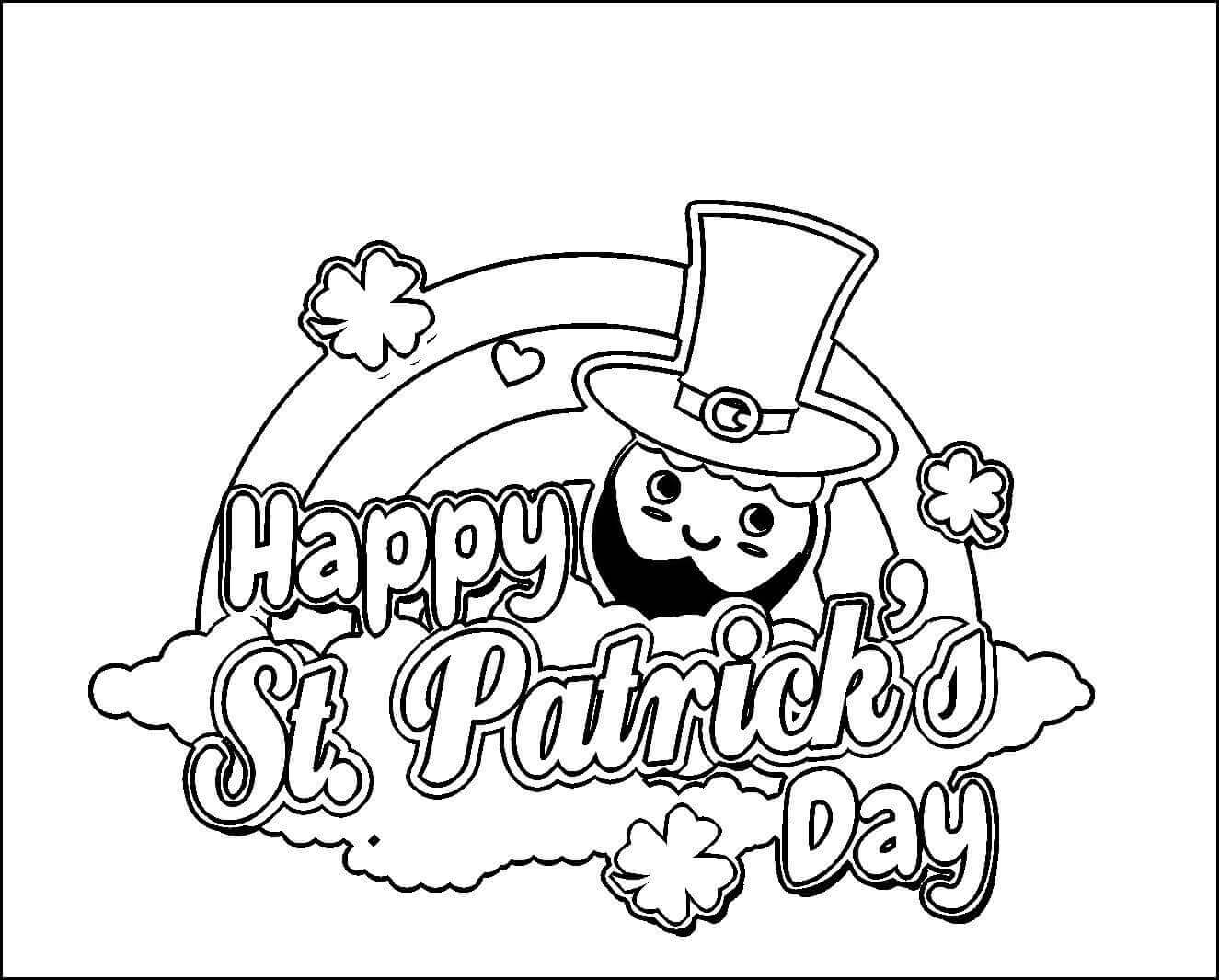 St Patricks Day 2021 coloring pages