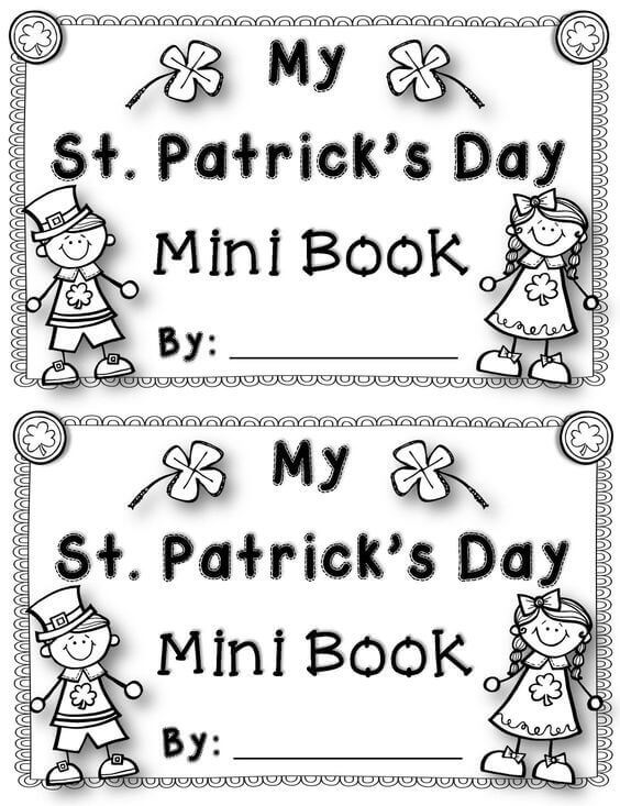 St Patricks Day Activity Sheet Free