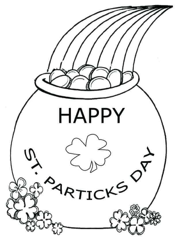 St Patricks Day Coloring Pages Free Printable St Patricks Day Coloring Pages For Preschoolers St Patricks Day Coloring Sheets For Free