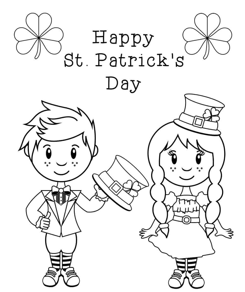 St Patricks Day Colouring Pages St Patricks Day Coloring Pages For Preschoolers St Patricks Day Coloring Sheets For Free