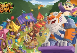 Animal Jam Coloring Pictures