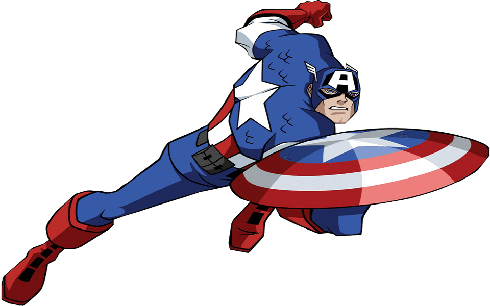 Captain America Coloring Images