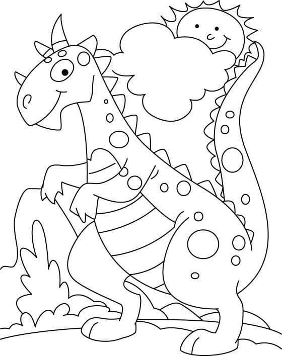 35 Free Printable Dinosaur Coloring Pages - ScribbleFun