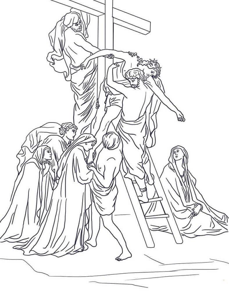 Coloring Pages Of Good Friday