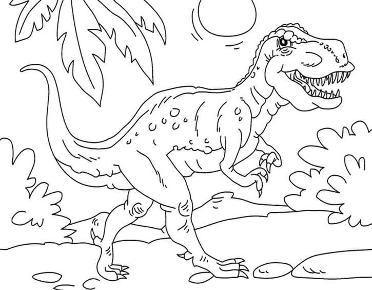 Dinosaur Coloring Images