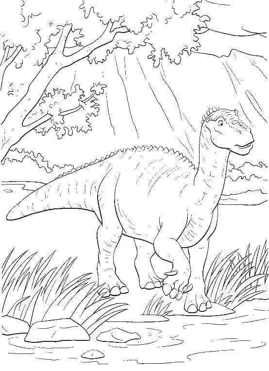 Dinosaur Colouring Pages For Kids