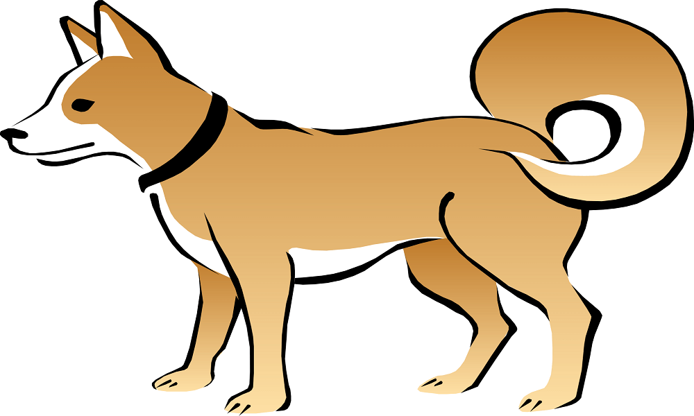 Dog coloring images