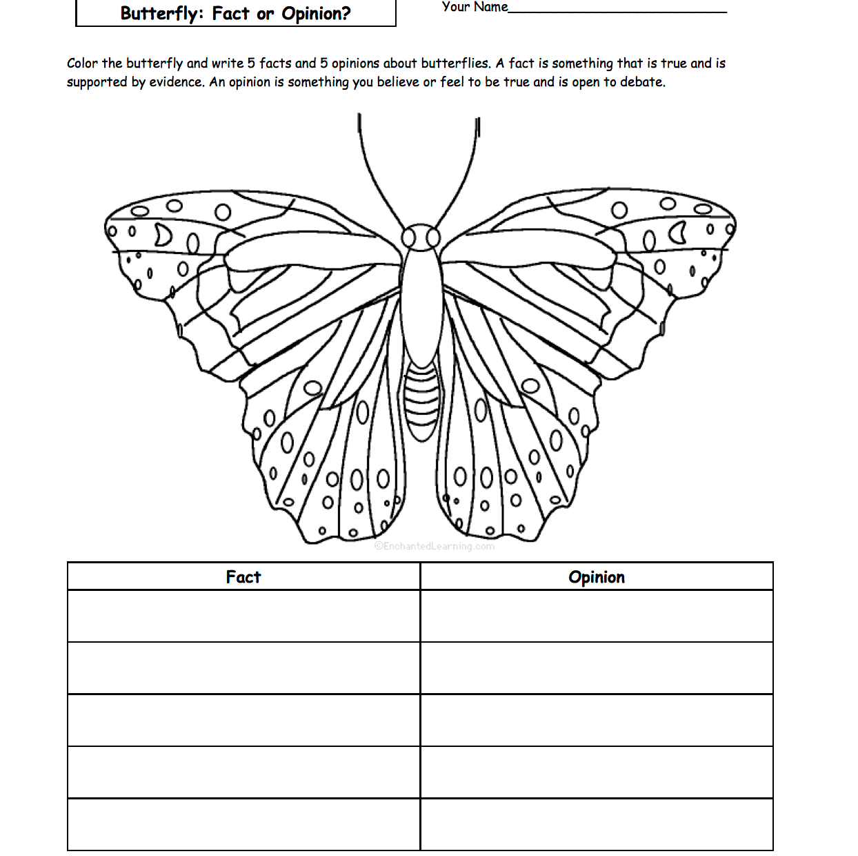 Free Butterflies Printable