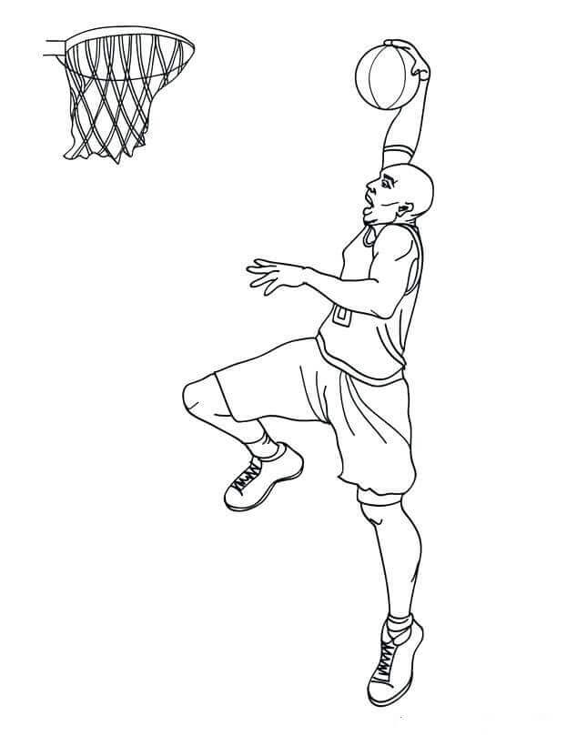 Free Coloring Pages Of March Madness Basketball