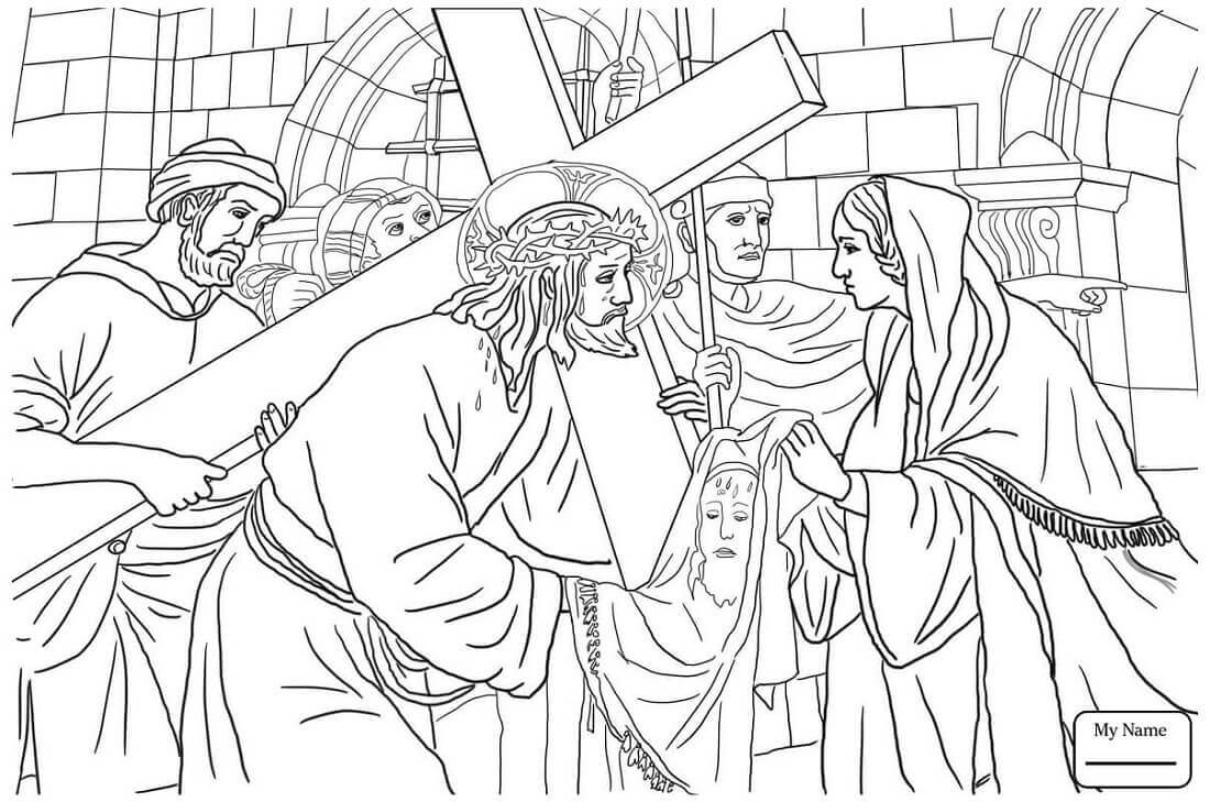 Free Good Friday Coloring Pages