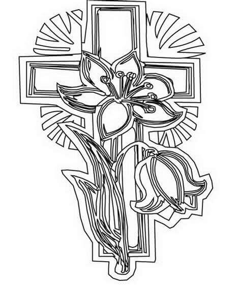 Free Good Friday Coloring Sheets