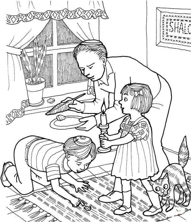 Free Passover Coloring Pages To Print