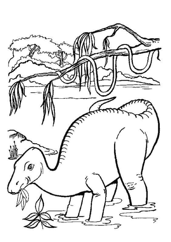 35 Free Printable Dinosaur Coloring Pages