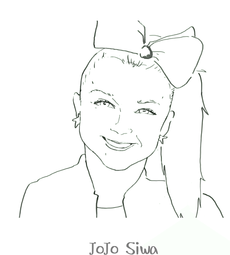 Free Printable JoJo Siwa Coloring Pages