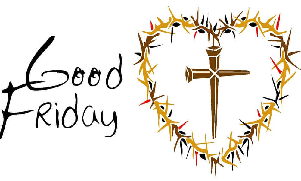 Good Friday Coloring Images