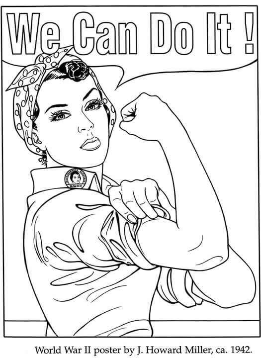 International womens day coloring pages ~ 15 Free Printable International Women's Day Coloring Pages